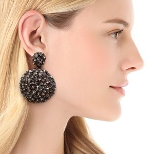 Alexis Bittar Nova Spherical Clip on Earrings